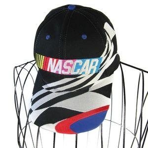 Vintage NASCAR Embroidered Spellout Snapback